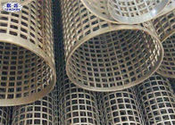 Silver Welded Perforated Stainless Steel Tube Slotted Tube Filter Cylinders