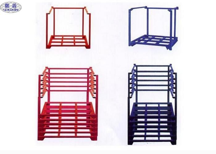 Warehouse Steel Stacking Racks Shelves Load Capacity 2000KG ISO Certificated