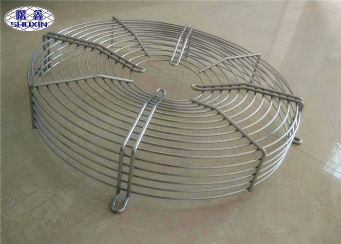Exhaust Fan Grill Cover , Low Carbon Steel Galvanized Metal Fan Grill For Machine